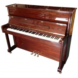 Piano Droit WILH.STEINMANN by Bechstein 118 Noyer brillant