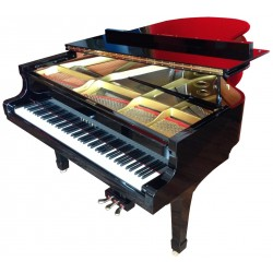 OCCASION PIANO A QUEUE YAMAHA C5 200cm Noir Brillant
