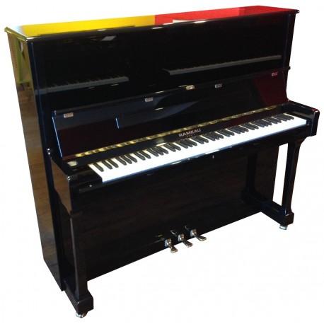 Piano Droit RAMEAU Esterel 130cm Noir poli