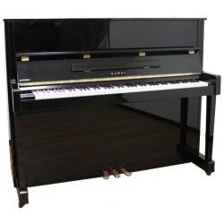 Piano Droit KAWAI HA-30 122cm Noir brillant
