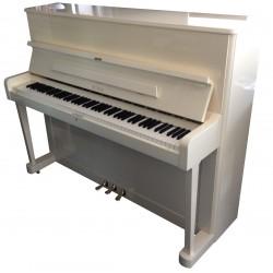 Piano Droit PETROF 118 P1 Blanc Poli