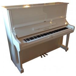 Piano Droit YAMAHA U3S Blanc brillant 131cm (avec pédale tonale)