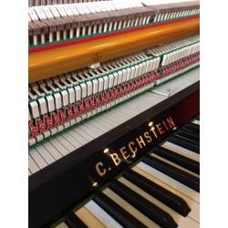 Piano droit C.BECHSTEIN 116 Millenium Silent Noir poli