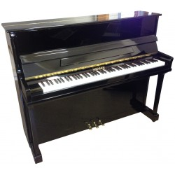 Piano Droit WIENNER M118 Noir poli