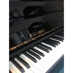 Piano Droit W.HOFFMANN 124 Trend by Bechstein Noir poli