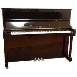 Piano Droit YAMAHA YM10 121cm Noir brillant