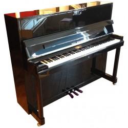 PIANO DROIT WILH.STEINBERG P-121 E Noir Brillant / Chrome