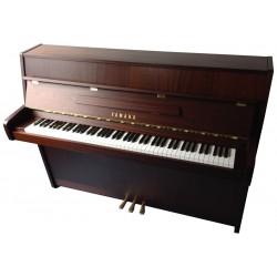 Piano Droit YAMAHA E-110N Noyer foncé satiné