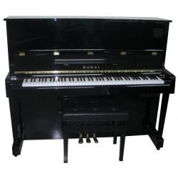 Piano Droit KAWAI FT-25 AT silent Anytime Noir brillant