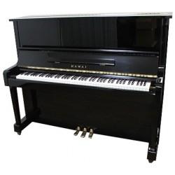Piano Droit KAWAI BS-10 122cm Noir brillant