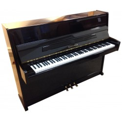 Piano Droit BOHEMIA Attractive Noir brillant 109cm