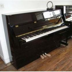 "PIANO DROIT GEORGE STECK ""all night"" NU09SL Noir Brillant"