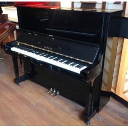 Piano Droit Yamaha U3AS 131cm Noir brillant (avec pédale tonale)