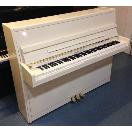 Piano Droit YOUNG CHANG E-112 Ivoire brillant