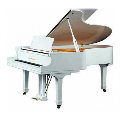 PIANO A QUEUE WILH.STEINBERG P 187 Blanc Poli