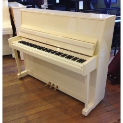 Piano Droit PETROF 118 Blanc brillant
