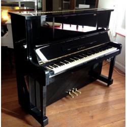 Piano Droit KAWAI KU-30 AT Anytime Noir Brillant 124cm