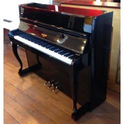 Piano Droit RAMEAU Beaugency 114 noir brillant