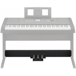 Pédalier 3 pédales, Yamaha LP7A (noir) ou LP7AWH (blanc) pour Yamaha DGX-650
