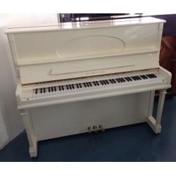Piano Droit TH.BETTING Blanc brillant  1m20