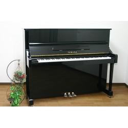 Piano Droit YAMAHA YM10 SILENT 121cm Noir brillant