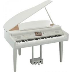 Piano numérique YAMAHA Clavinova CVP-709 GPWH blanc brillant/NOUVEAUTE