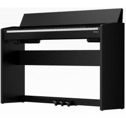 Piano numérique ROLAND F-140R-CB Noir mat (Contemporary Black)