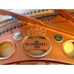 PIANO A QUEUE Schimmel CC 208 T 2m08 Noir brillant