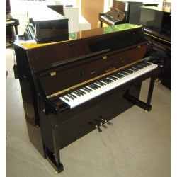 Piano droit WALDSTEIN, 110 G, finition noir brillant