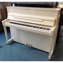 Piano Droit Schimmel 116 International Blanc poli