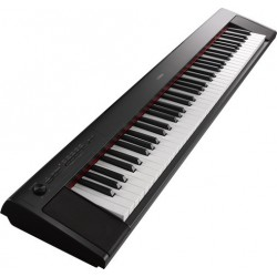 Clavier YAMAHA Piaggero NP-32 B Noir Mat 76 notes