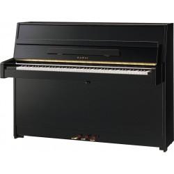PIANO DROIT KAWAI K-15e 110cm Noir Brillant