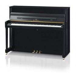 PIANO DROIT KAWAI K-200 114cm Noir Brillant