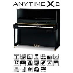 PIANO DROIT KAWAI K-500 ATX2 130cm Noir Brillant