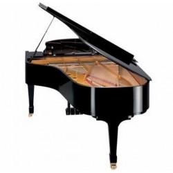 PIANO A QUEUE SHIGERU KAWAI SK6L 214cm Noir brillant