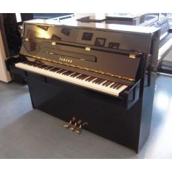 Piano Droit YAMAHA C 110A Noir brillant