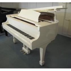 PIANO A QUEUE SAMICK SIG-161 Blanc Brillant 1m61