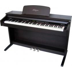 Piano numérique DELSON, ALLEGRO 8865, finition palissandre