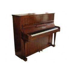 Piano Droit GAVEAU E 125 cm Acajou frisé à chevron