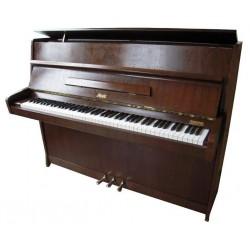 Piano droit ROSLER, 108, finition noyer satiné