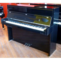 Piano Droit C.BECHSTEIN 116 Millenium Silent Noir/Chrome poli