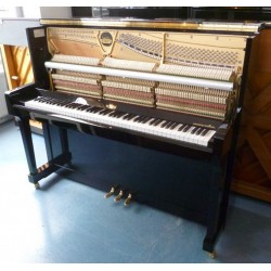 Piano droit MAY, M121 Tradition, finition noir brillant / Selected for Schimmel