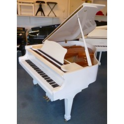 PIANO A QUEUE Hermann Jacobi HJ-165 Blanc Brillant