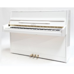 PIANO DROIT SAMICK JS-043 Blanc Brillant