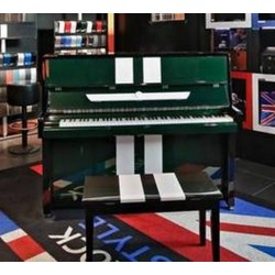 PIANO DROIT SAMICK 118 RACING GREEN Noir ou Vert Brillant