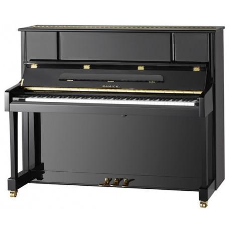 PIANO DROIT SAMICK JS-122 SMD Noir brillant / Renner