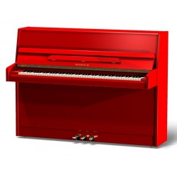 PIANO DROIT SAMICK JS-043 Rouge brillant