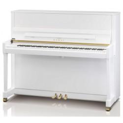 PIANO DROIT KAWAI K-300 122cm Noir Brillant