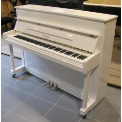 Piano Droit GEORGE STECK US-12 T Blanc brillant