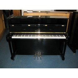 Piano droit George Steck US 12-T Noir brillant